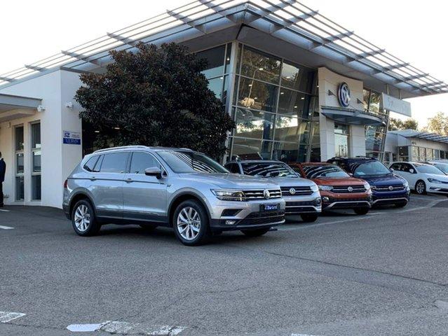 Demo Volkswagen Tiguan 5N MY20 132TSI Comfortline DSG 4MOTION Allspace Botany, 2020 Volkswagen Tiguan 5N MY20 132TSI Comfortline DSG 4MOTION Allspace Silver 7 Speed