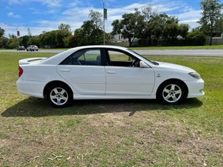 2003 Toyota Camry ACV36R Sportivo White 5 Speed Manual Sedan
