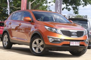 2011 Kia Sportage SL MY12 SI Orange 5 Speed Manual Wagon.
