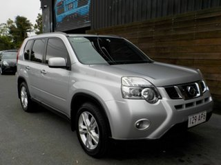 2010 Nissan X-Trail T31 Series IV ST-L 2WD Silver 1 Speed Constant Variable Wagon.