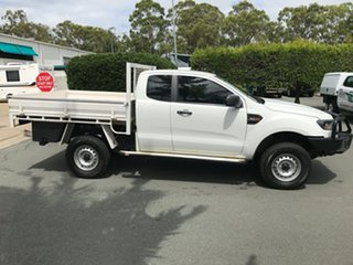 2017 Ford Ranger PX MkII 2018.00MY XL Cool White 6 speed Automatic Cab Chassis.