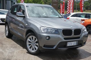 2014 BMW X3 F25 MY1213 xDrive20d Steptronic Grey 8 Speed Automatic Wagon