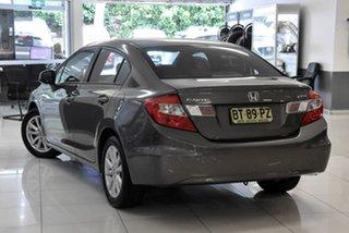 2012 Honda Civic 9th Gen Ser II VTi-L Grey 5 Speed Sports Automatic Sedan.