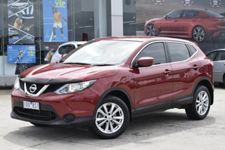 2014 Nissan Qashqai J11 ST Red/Black 1 Speed Constant Variable Wagon.