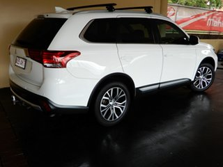 2017 Mitsubishi Outlander ZK MY18 LS (4x2) White Continuous Variable Wagon