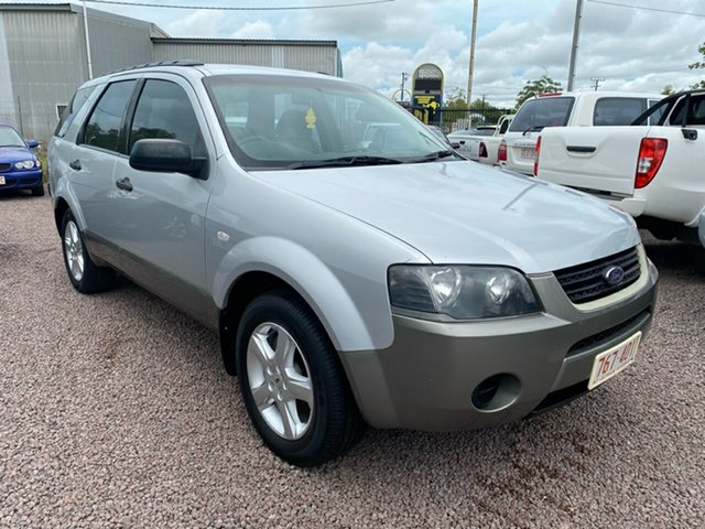 Used Ford Territory SY TX Berrimah, 2006 Ford Territory SY TX Silver 4 Speed Sports Automatic Wagon