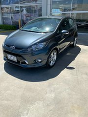 2012 Ford Fiesta WT Zetec PwrShift Grey 6 Speed Sports Automatic Dual Clutch Hatchback.