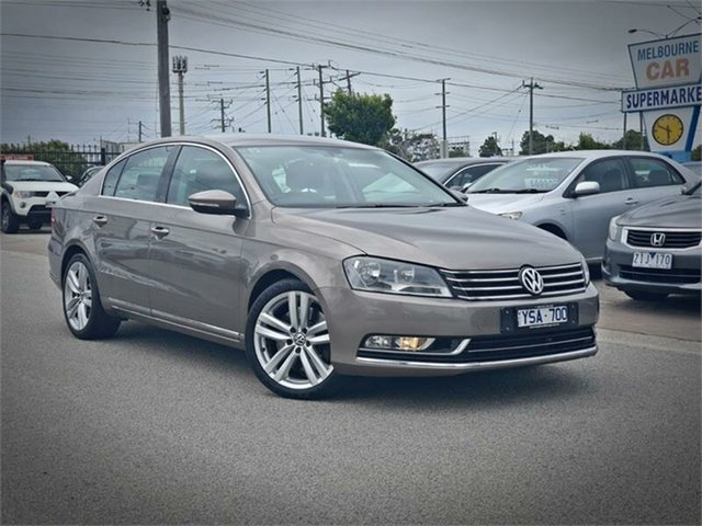 Used Volkswagen Passat Type 3C V6 FSI Highline Cheltenham, 2011 Volkswagen Passat Type 3C V6 FSI Highline Bronze Sports Automatic Dual Clutch Sedan