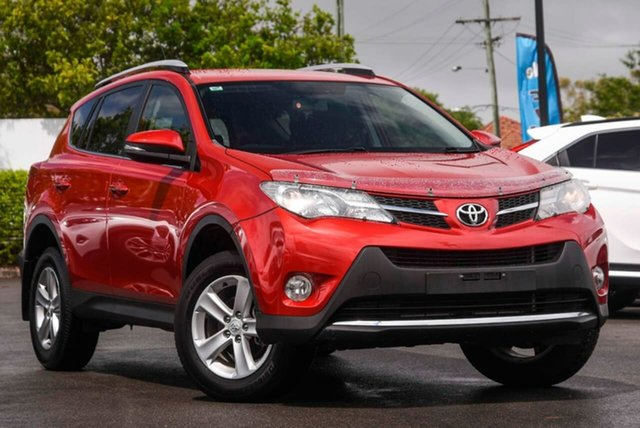 Used Toyota RAV4 ZSA42R MY14 GXL 2WD Mount Gravatt, 2014 Toyota RAV4 ZSA42R MY14 GXL 2WD Red 6 Speed Manual Wagon