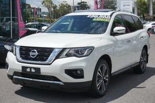 2019 Nissan Pathfinder R52 Series III MY19 Ti X-tronic 4WD White 1 Speed Constant Variable Wagon
