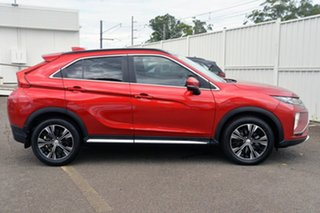 2018 Mitsubishi Eclipse Cross YA MY19 Exceed 2WD Red 8 Speed Constant Variable Wagon.