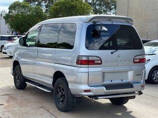 2006 Mitsubishi Delica PD6W Spacegear Chamonix Silver Automatic Van Wagon.