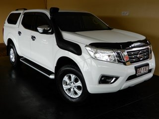 2015 Nissan Navara NP300 D23 ST (4x4) White 6 Speed Manual Dual Cab Utility