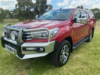 2015 Toyota Hilux GUN126R SR5 Double Cab Red 6 Speed Manual Utility