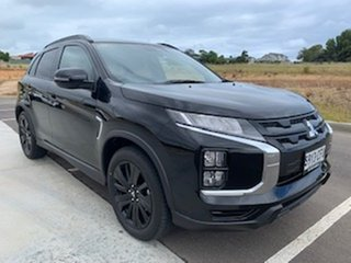 2020 Mitsubishi ASX XD MY20 GSR 2WD Black 6 Speed Constant Variable Wagon.