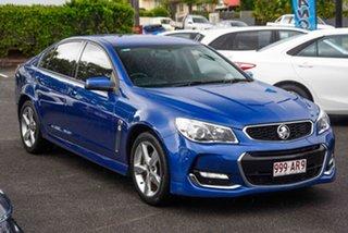 2016 Holden Commodore VF II MY16 SV6 Blue 6 Speed Sports Automatic Sedan.