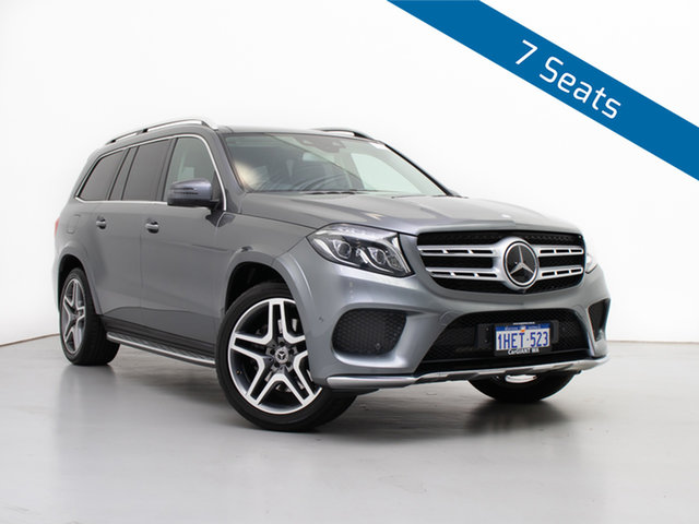 Used Mercedes-Benz GLS350d 4Matic X166 Sport, 2017 Mercedes-Benz GLS350d 4Matic X166 Sport Palladium Silver 9 Speed Automatic G-Tronic Wagon
