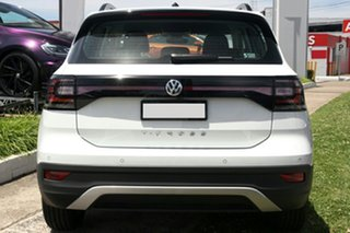 2021 Volkswagen T-Cross C1 MY21 85TSI DSG FWD Life White 7 Speed Sports Automatic Dual Clutch Wagon