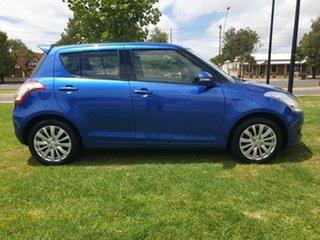 2010 Suzuki Swift RS415 GLX Blue 5 Speed Manual Hatchback.