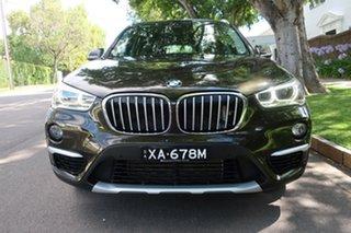 2015 BMW X1 F48 xDrive20d Steptronic AWD 8 Speed Sports Automatic Wagon.