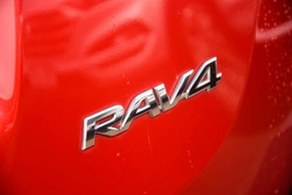 2014 Toyota RAV4 ZSA42R MY14 GXL 2WD Red 6 Speed Manual Wagon
