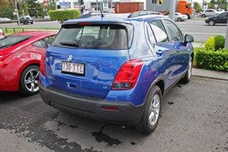 2014 Holden Trax TJ MY14 LS Blue 5 Speed Manual Wagon.