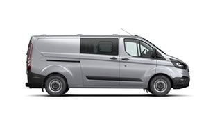 2021 Ford Transit Custom VN 2021.25MY 340L (Low Roof) Frozen White 6 Speed Automatic Double Cab Van