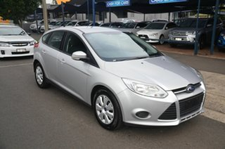 2013 Ford Focus LW MK2 Ambiente Silver 6 Speed Automatic Hatchback.