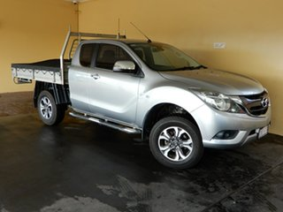 2015 Mazda BT-50 MY16 XTR (4x4) Silver 6 Speed Automatic Freestyle Utility.