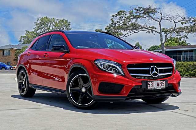 Used Mercedes-Benz GLA-Class X156 806MY GLA200 d DCT Capalaba, 2015 Mercedes-Benz GLA-Class X156 806MY GLA200 d DCT Red 7 Speed Sports Automatic Dual Clutch Wagon