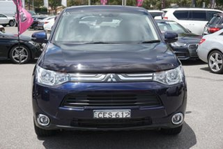 2012 Mitsubishi Outlander ZJ MY13 Aspire 4WD Blue 6 Speed Sports Automatic Wagon.