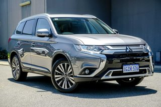 2020 Mitsubishi Outlander ZL MY20 LS 2WD Grey 6 Speed Constant Variable Wagon.