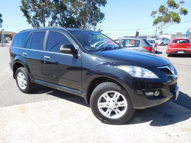 Used Great Wall X200 K2 MY14 Wangara, 2014 Great Wall X200 K2 MY14 Black 5 Speed Automatic Wagon