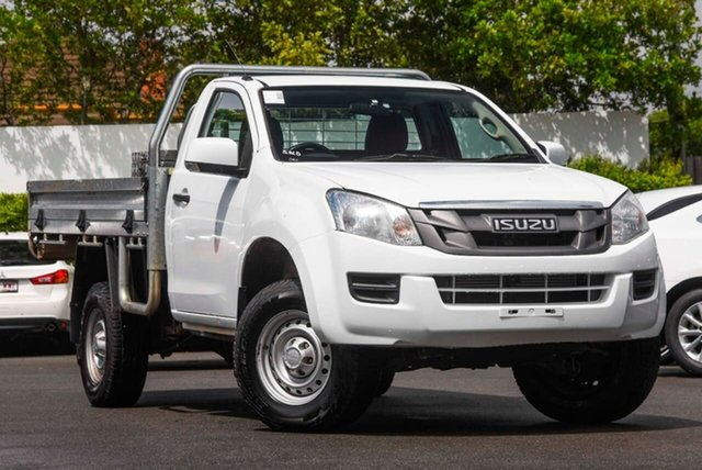 Used Isuzu D-MAX MY15 SX Mount Gravatt, 2014 Isuzu D-MAX MY15 SX White 5 Speed Manual Cab Chassis