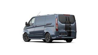 2021 Ford Transit Custom VN 2021.25MY 320S (Low Roof) Sport Blue Metallic 6 Speed Automatic Van