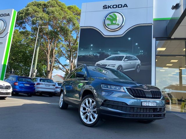 Used Skoda Karoq NU MY19 110TSI DSG FWD Botany, 2018 Skoda Karoq NU MY19 110TSI DSG FWD Grey 7 Speed Sports Automatic Dual Clutch Wagon