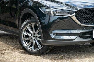 2019 Mazda CX-5 KF4WLA Akera SKYACTIV-Drive i-ACTIV AWD Black 6 Speed Sports Automatic Wagon.
