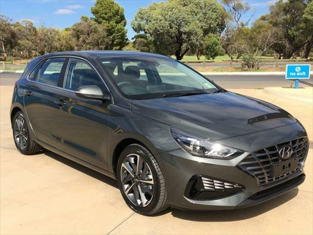 New Hyundai i30 PD.V4 MY21 Elite Berri, 2020 Hyundai i30 PD.V4 MY21 Elite Amazon Gray 6 Speed Sports Automatic Hatchback