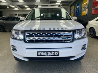 2014 Land Rover Freelander 2 LF Td4 SE Fuji White Sports Automatic Wagon.