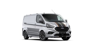 2020 Ford Transit Custom VN 2020.50MY 320S (Low Roof) Sport Moondust Silver 6 Speed Automatic Van.