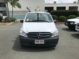 2013 Mercedes-Benz Vito 639 MY13 113CDI SWB White 5 speed Automatic Van.