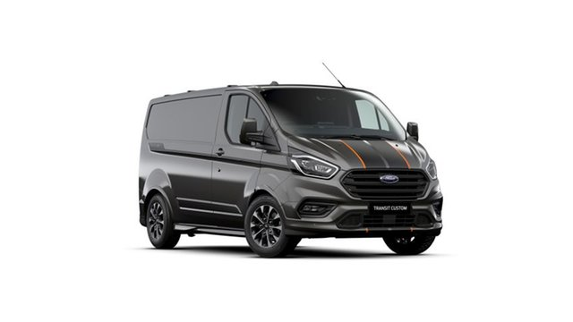 New Ford Transit Custom VN 2021.25MY 320S (Low Roof) Sport Kingswood, 2021 Ford Transit Custom VN 2021.25MY 320S (Low Roof) Sport Magnetic 6 Speed Automatic Van