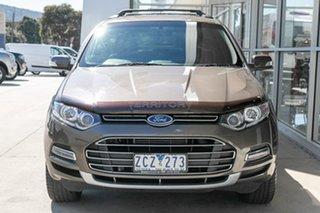 2012 Ford Territory SZ Titanium Seq Sport Shift Gold 6 Speed Sports Automatic Wagon.