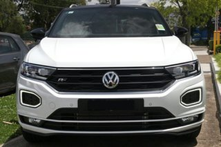 2020 Volkswagen T-ROC A1 MY20 140TSI DSG 4MOTION X Pure White & Flash Red 7 Speed