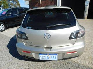 2007 Mazda 3 BK10F2 Maxx Gold 4 Speed Sports Automatic Hatchback