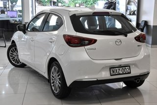 2020 Mazda 2 DJ2HAA G15 SKYACTIV-Drive GT White 6 Speed Sports Automatic Hatchback
