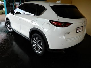 2018 Mazda CX-5 MY18 (KF Series 2) Akera (4x4) (5Yr) White 6 Speed Automatic Wagon.