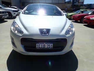 2013 Peugeot 308 11 Upgrade CC Allure Turbo Pearl Glare White 6 Speed Automatic Cabriolet.