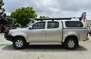 2008 Toyota Hilux KUN26R 08 Upgrade SR5 (4x4) Silver 4 Speed Automatic Dual Cab Pick-up