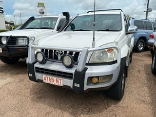 2008 Toyota Landcruiser Prado KDJ120R GXL White 5 Speed Automatic Wagon